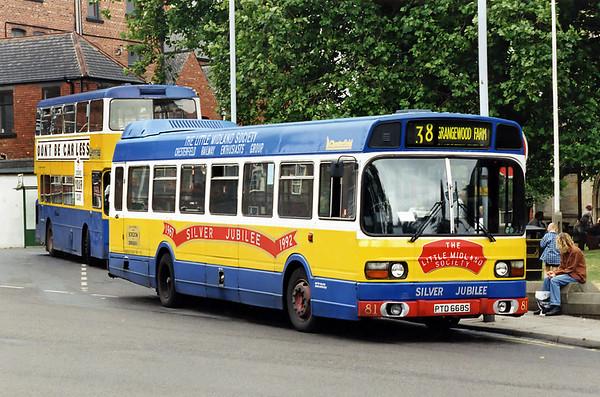 81 PTD668S, Chesterfield 26/7/1994