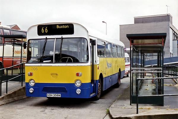 305 GOH356N, Chesterfield 26/7/1994