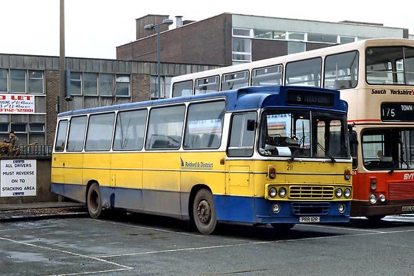 211 PRA112R, Doncaster 19/2/1992