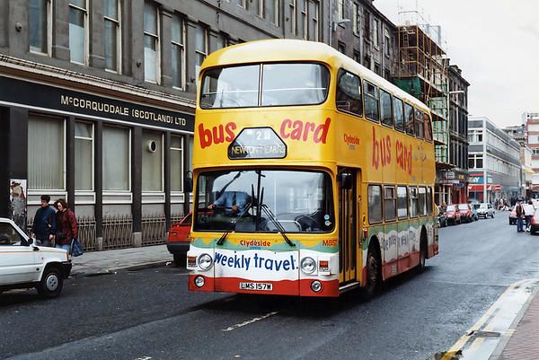 M857 LMS157W, Glasgow 15/5/1993
