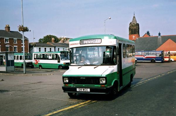 MSL111 D111WCC, Wrexham 9/9/1991