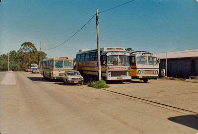 Front of Depot in 1983.
