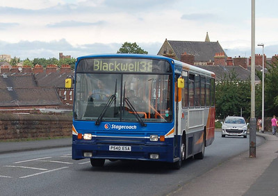 Stagecoach 20540 (P540ESA), St Nicholas Bridge, Carlisle, 7th July 2012