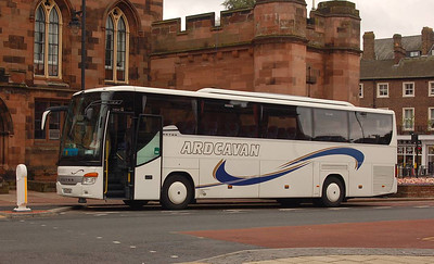 Ardcavan Coach Tours 06-WX-900, English Street, Carlisle, 24th July 2012