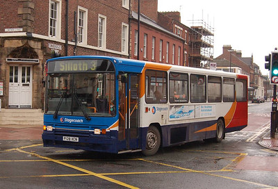 Stagecoach 20128 (P128XCN), Carlisle, 24th July 2012