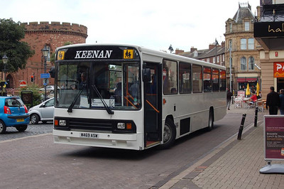 Keenan M469ASW, Carlisle Station, 14th July 2012