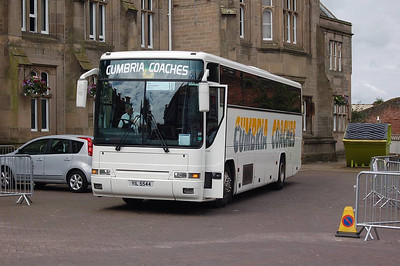 Cumbria Coaches YIL5544, Carlisle Station, 14th July 2012