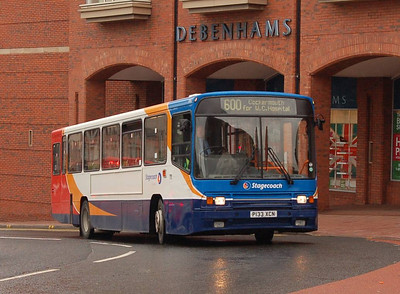 Stagecoach 20133 (P133XCN), Carlisle, 24th July 2012