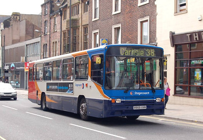 Stagecoach 20959 (R959XVM), Botchergate, Carlisle, 14th July 2012