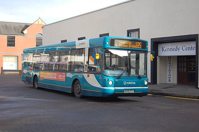 Arriva North East 4522 (W298PTT), Carlisle Bus Station, 12th October 2012