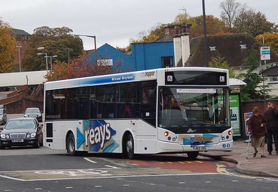 Reays Y62JXG, West Tower Street, Carlisle, 23rd October 2012