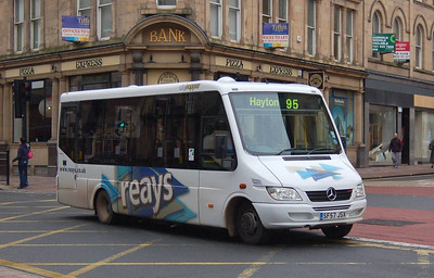 Reays SF57JSX, Lowther Street, Carlisle, 23rd October 2012