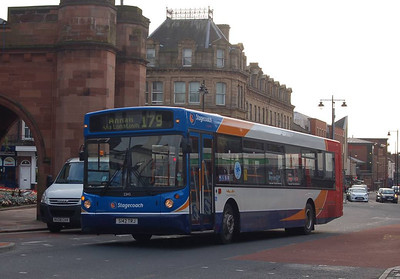Stagecoach 22142 (S142TRJ), Carlisle, 1st October 2012
