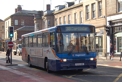 Stagecoach 20219 (P219HBD), Lowther Street, , Carlisle, 12th October 2012
