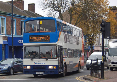 Stagecoach 16645 (P275VPN), Warwick ROad, Carlisle, 23rd October 2012