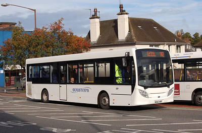 Houston's MX62ARF, West Tower Street, Carlisle, 1st October 2012