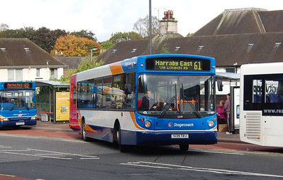 Stagecoach 22139 (S139TRJ), West Tower Street,, Carlisle, 1st October 2012