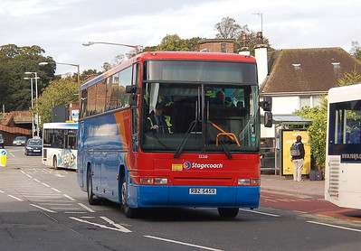 Stagecoach 52268 (RBZ5459), West Tower Street, Carlisle, 1st October 2012