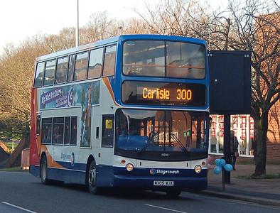 Stagecoach 18330 (MX05WJA), Carlisle, 15th January 2013