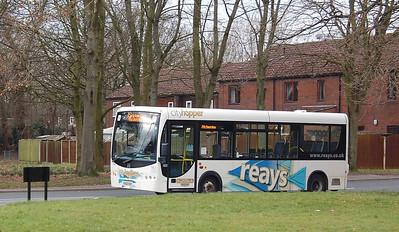 Reays YX60DXC, Durranhill, Carlisle, 23rd February 2013