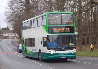 Stagecoach 18357 (MX55KPJ), Durranhill Road, Carlisle, 14th March 2013