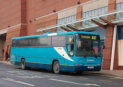 Arriva North East 1211 (V211DJR), Carlisle, 23rd January 2013