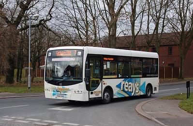 Reays YX60DXE, Durranhill, Carlisle, 23rd February 2013