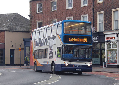 Stagecoach 18365 (MX55KPU), The Crescent, Carlisle, 18th March 2013