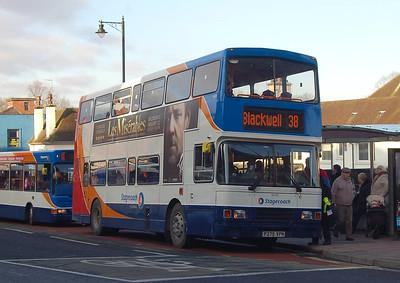Stagecoach 16645 (P275VPN), Carlisle, 15th January 2013