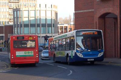 Stagecoach 22597 (PX08CSZ), Carlisle, 15th January 2013