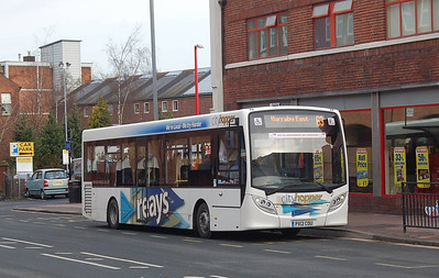 Reays PX12COU, Carlisle, 28th January 2013