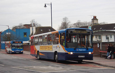 Stagecoach 20456 (M456VCW), Carlisle, 17th January 2013