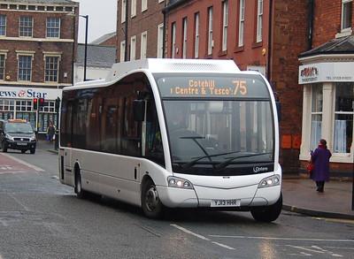 Reays YJ13HHR, Lonsdale Street, Carlisle, 7th March 2013