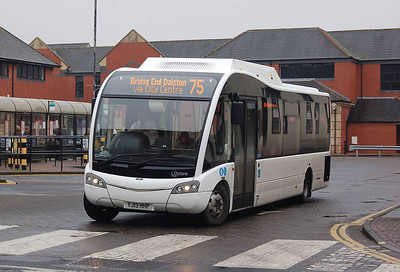 Reays YJ13HHP, Carlisle Bus Station, 7th March 2013