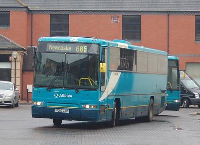 Arriva North East 1210 (V210DJR), Carlisle Bus Station, 7th March 2013