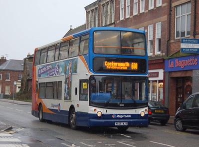 Stagecoach 18330 (MX05WJA), Carlisle, 21st January 2013