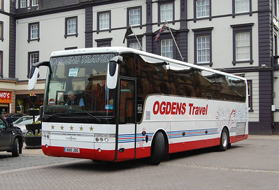 Ogdens Travel K60JDO, Carlisle Station, 23rd April 2013
