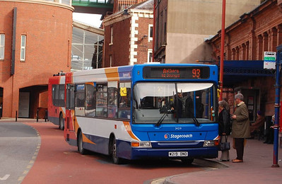 Stagecoach 34219 (W219DNO), West Tower Street, Carlisle, 15th April 2013