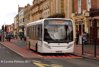 Reays KX08UXU, Lowther Street, Carlisle, 25th April 2013