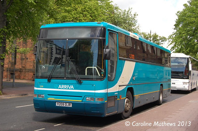 Arriva North East 1209 (V209DJR), Warwick Road, Carlisle, 1st June 2013