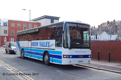 Rhiew Valley Motors B3RVM, Portland Place, Carlisle, 4th May 2013