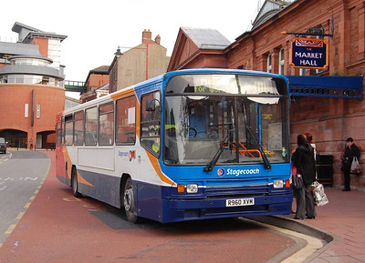 Stagecoach 20960 (R960XVM), West Tower Street, Carlisle, 15th April 2013