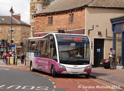Alba Travel YJ10EZA, The Crescent, Carlisle, 1st June 2013