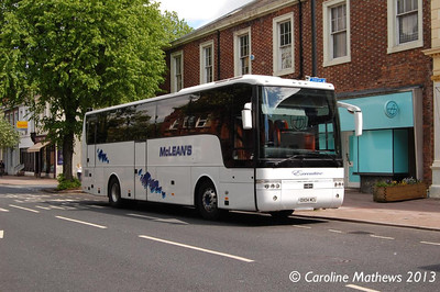 McLean's DX04MCL, Warwick Road, Carlisle, 1st June 2013