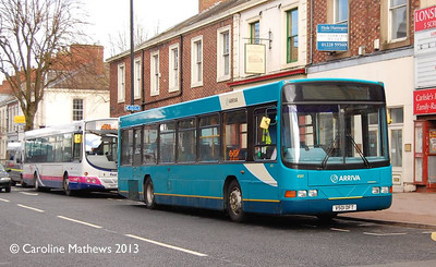 Arriva North East 4501 (V501DFT), Warwick Road, Carlisle, 25th April 2013