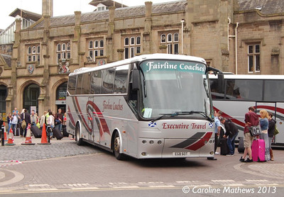 Fairline Coaches EGB60T, Carlisle Station, 17th June 2013