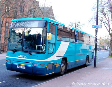 Arriva North East 1213 (V213DJR), Warwick ROad, Carlisle, 4th May 2013