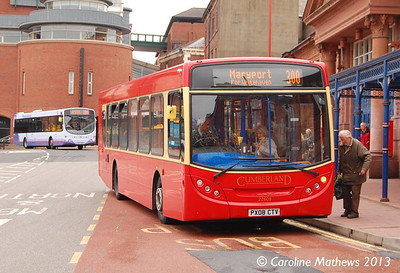 Stagecoach 22609 (PX08CTV), West Tower Street, Carlisle, 20th May 2013