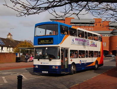 Stagecoach 16650 (R250NBV), West Tower Street, Carlisle, 15th April 2013