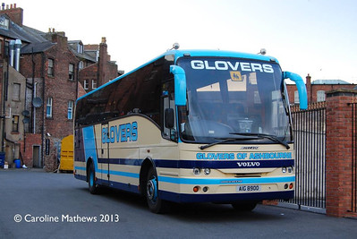 Glovers of Ashbourne AIG8900, Carlisle, 4th May 2013